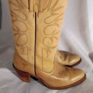 FRYE Leather BOOTS 6187 Riding Cowboy